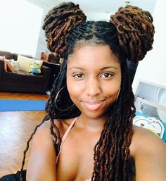 Ways To Make Your Hair Grow Fast Even If It is Damaged Channeling my inner Princess Leia today Dreadlock Styles, Dreads Styles, Curly Hair Styles, Dreadlock Hairstyles, Twist Hairstyles, Cool Hairstyles, Beautiful Hairstyles, Afro, Natural Hair Care