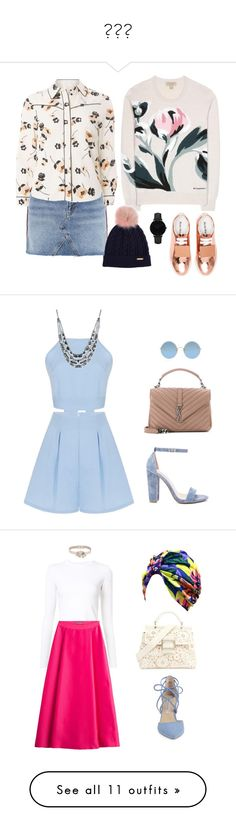 """""""☀🌼🌸"""" by candynena228 ❤ liked on Polyvore featuring Topshop, Dorothy Perkins, Burberry, Acne Studios, CLUSE, Yves Saint Laurent, Steve Madden, Givenchy, Sunday Somewhere and Proenza Schouler"""