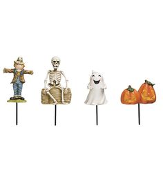 Miniature Fairy Garden Halloween Accessories Set