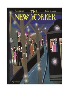The New Yorker Cover - November 30, 1929 ジクレープリント