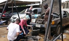 Working as a teen mechanic in Nigeria's slums changed my career focus