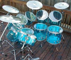 Music Aesthetic, Blue Aesthetic, Music Guitar, Ukulele, Best Christmas Toys, Ludwig Drums, Heavy Metal, Vintage Drums, Beatles Photos