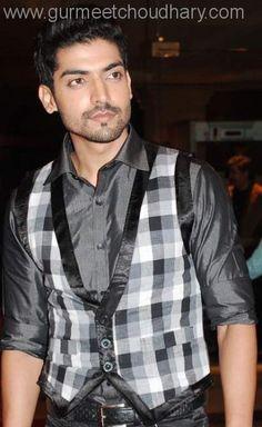 Gurmeet Choudhary, Drashti Dhami, Indian Movies, Tv Actors, Eye Candy, Handsome, Men Casual, Vest, My Favorite Things