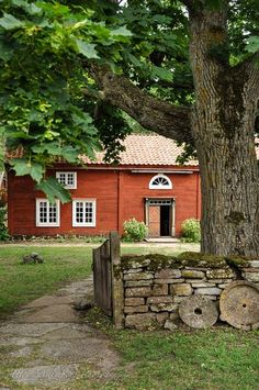 A traditional Swedish country house