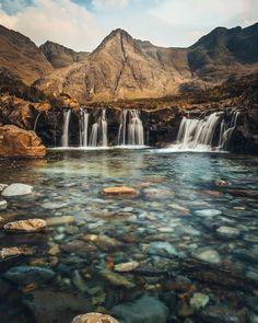 Fairy Pools, Isle of Skye, Scotland.