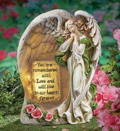 Solar Angel Garden Memorial