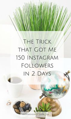 Are you trying to figure out how to gain more Instagram followers? If so, take a look at this trick that got me 150 Instagram followers in 2 days!!