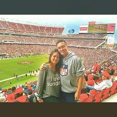 My sister flew me down to San Francisco for the weekend for my first ever NFL game and I had the best VIP experience   #siblings #unforgettable #sundayfunday #nflsunday #party #rage #daydrinking #turnup #loveher