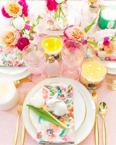 6 Place Settings to Inspire your Tablescape | Pizzazzerie