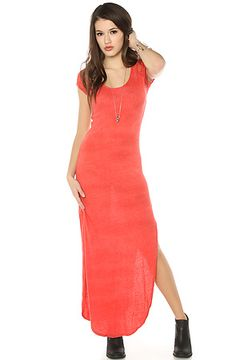 The Maxi Lace Dress in Strawberry by Free People
