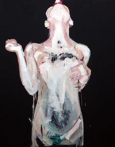 """S/T, Oil on canvas 162 x 130 cm, 2011"" By ""Yolanda Dorda"""