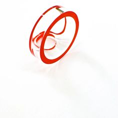 diederick van hovell, ring, plexi, acrylic.
