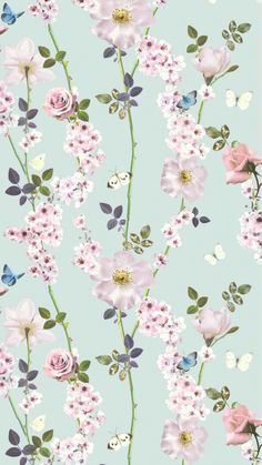The Dreamscape Floral Trail Wallpaper from I Love Wallpaper The perfect goto Wallpaper if youre looking for something to stand out Its Delicate Design really creates an i. Lotus Flower Wallpaper, Vintage Flowers Wallpaper, Flowery Wallpaper, Shabby Chic Wallpaper, Print Wallpaper, Black Wallpaper, Pattern Wallpaper, Wallpaper Designs, Pretty Backgrounds