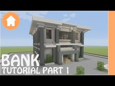 Minecraft Tutorial: Bank Tutorial Minecraft #1 - YouTube