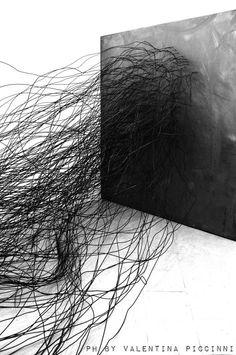Lascia un commento, black | artist / Künstler: Davide Dormino | Photo: Valentina Piccinni |