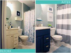 IHeart Organizing: A Little Bathroom Refresh