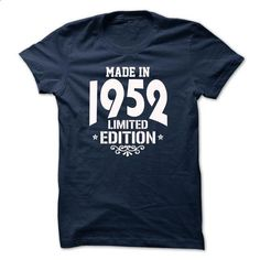 Made in 1952 - Limited Edition - #tee geschenk #awesome hoodie. ORDER NOW => https://www.sunfrog.com/Birth-Years/Made-in-1952--Limited-Edition-NavyBlue.html?68278