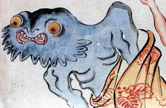 【妖怪】いがぼう weird chestnut demon http://www.youkaiwiki.com/entry/2013/03/12/152215