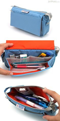 The Nomadic PE-09 Flap Type case has an amazing capacity of approximately 45 pens! In addition to holding lots of your everyday writing tools, the case keeps them organized.