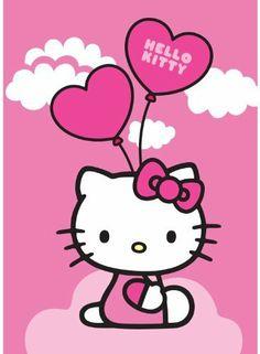 Hello Kitty Balloons Luftballon Ballon Kinderteppich Teppich Kinderteppich Kinder Teppich Spielteppich darf in keinem Kinderzimmer fehlen 95 x 133 cm von Bavaria Home Style Collection, http://www.amazon.de/dp/B00JFQMH60/ref=cm_sw_r_pi_dp_8Mrptb03HB9FD