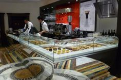espressamente illy cafe Rome counter