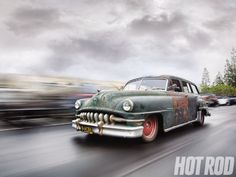 The Derelict - 1952 Chrysler Town & Country - Beauty In The Beast