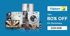 Electronic Store: Shop & Get Upto 80% OFF at #Flipkart for more offers visit http://bit.ly/2rU3VSK