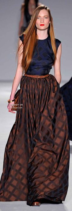Aigner Fall Winter 2014-15 RTW (Feeling rather ignorant, I'ds no idea the company was doing apparel!)