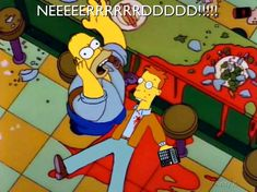 Did you get a load of the nerd? The Simpsons, Bart Simpson, Nerd, Family Guy, Memes, Fictional Characters, Meme, Otaku, Geek