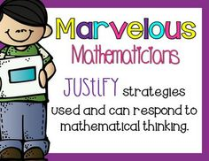 Marvelous Mathematicians~ Display these mini-posters in your classroom to encourage positive math behaviors.