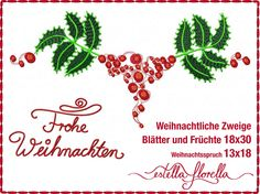 Stickdateien, Embroidery Files, Affiches de Broderie      Alle Motive erhältlich für kleine, mittlere und große Rahmen.    All designs available for small, midsize and big frames.    http://estellaflorella.dawanda.com