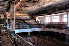 Abandoned Thomas Edison High School in Philadelphia
