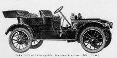 1910 Franklin Model D Close-coupled car Four-cylinder, 28-horse-power