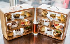 St David's Hotel Cardiff Gentlemen's Afternoon Tea review from Tempus at Tides Restaurant overlooking Cardiff Bay.