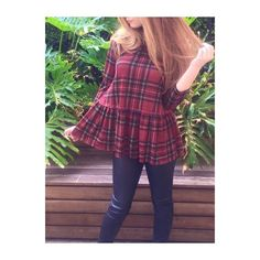 Mad about Plaid | Shop the Scotty Girl top in store and online | Sassy Shortcake Boutique