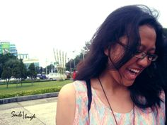 her laughing..
