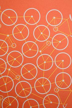 string art/bicycles/abstract