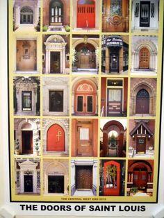 Doors of Central West End, Saint Louis