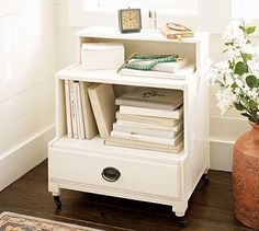 Lilian Bedside Table #potterybarn. Bedroom. Nightstand. Hubby project...