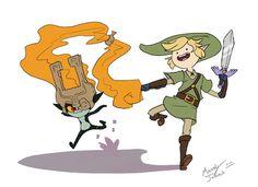 Legend of zelda adventure time edition