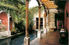 """riad"" ""floor plan"" home interior garden"
