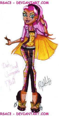 Dot Dead Gorgeous Nikki by Rsac3.deviantart.com on @deviantART