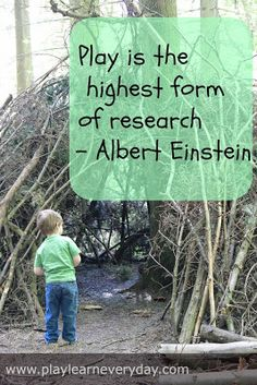 Play & Learn Everyday: Play Based Learning quote from Albert Einstein, Learning Through Play, quotes Citations D'albert Einstein, Citation Einstein, Play Based Learning, Learning Through Play, Learning Time, The Words, E Mc2, Play To Learn, Childhood Education