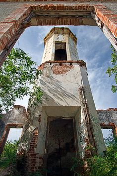 Faro de Guanica- very old lighthouse