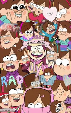 Mabel collage