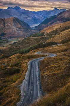 Queenstown to Glenorchy - Otago, South Island, New Zealand
