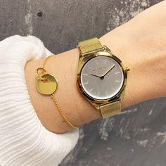 Gold Watch, Watches, Accessories, Fashion, Necklaces, Neck Chain, Wristlets, Moda, Wristwatches