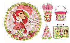 Strawberry Shortcake Party Supplies + 10 creative Strawberry Shortcake Party Ideas!