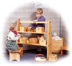 Waldorf Spielregale und Spielhaus - Die Möbelschmiede