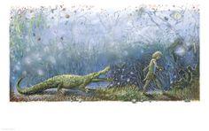 "Peter Uchnár illustration for ""Peter Pan"". Peter Pan, Illustrator, Illustrators, Peter Pans"